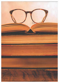 Blank Journal - Books and Glasses Cover (paperback)