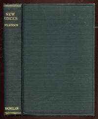 New York: Macmillan, 1919. Hardcover. Near Fine. Second edition. Gift inscription on front fly, else...