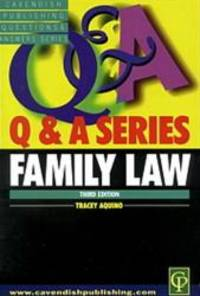 Q & A on Family Law (Q & A Series)