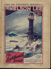 """image of THE NELSON LEE LIBRARY; The St. Frank's Weekly: No 527, July 11, 1925 (""""The Lighthouse Scouts"""")"""