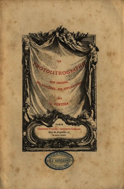 Paris: Gauthier-Villars, 1876. First edition. 8vo., 74 pp., plus 2 leaves with 3 plates, 2 of which ...