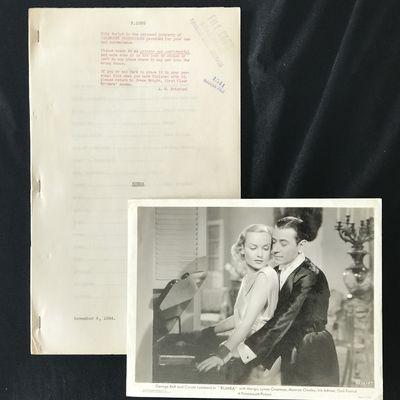 Hollywood: Paramount Studios, 1934. Draft Script for the 1935 film RUMBA, a romantic musical drama s...