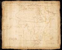 Africa, Manuscript Map, 1830 (Society of Friends)