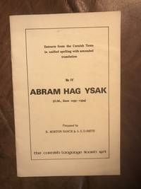 Abram Hag Ysak  Abraham And Isaac