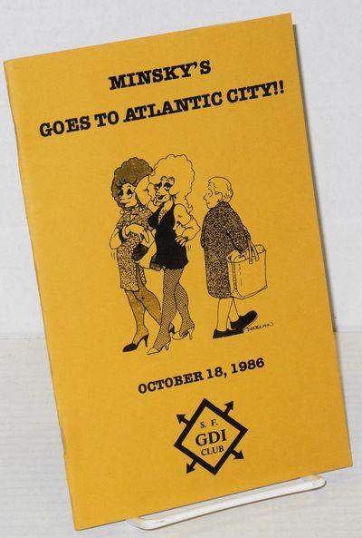 San Francisco: San Francisco GDI Club, 1986. 8.5x11 inches, photos, ads, very good souvenir program ...