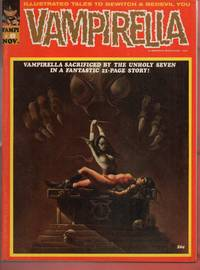 Vampirella Comic Magazine November 1970 #8 Vampi
