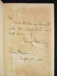 The House of Orchids and Other Poems by  George Sterling  - Hardcover  - Signed  - 1911  - from Swan's Fine Books (SKU: CNWB02)