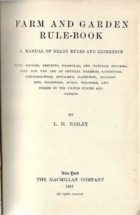 Farm and Garden Rule - Book