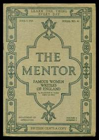 image of THE MENTOR - FAMOUS WOMEN WRITERS OF ENGLAND - June 1 1915 - Serial Number 84 - Volume 3, number 8