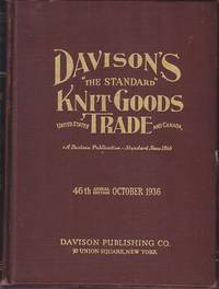 """image of Davison's Knit Goods Trade """"The Standard"""" 46th Annual Edition, October 1936"""
