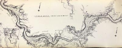 San Juan River Scroll Map