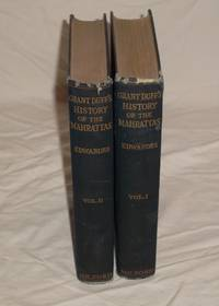 A History of the Mahrattas - in two volumes