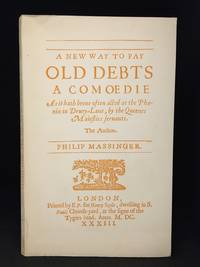 image of A New Way to Pay Old Debts; 1633