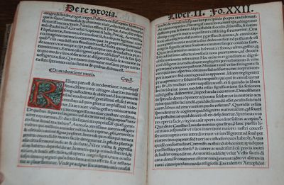 Paris: Vaenundantur in aedibus Ascensianis, 1514. Second edition after the first of 1513. 4to, xxxii...