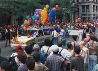 Hundreds Of Color Photographs Of The 1995 New York City Gay Pride Parade