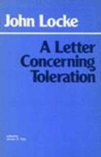 image of A Letter Concerning Toleration (Hackett Classics)