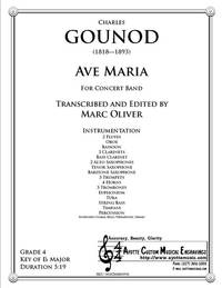 Ave Maria for Concert Band