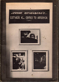 Esther K. Comes to America, 1931