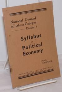 image of Syllabus of Political Economy