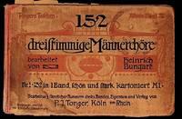 152 Dreifrimmige Mannerchore