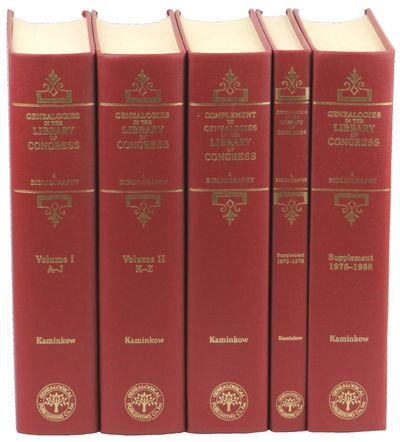 Baltimore: Genealogical Publishing Company, 2001. Hardcover. Very good. viii, 905pp; viii, 961pp; ix...