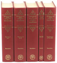 Genealogies in the Library of Congress: A Bibliography [Five Volume Set]
