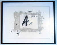 Lettre A by  Antoni Tapies  - First printing thus  - 1986  - from Passages Bookshop (SKU: 3774)