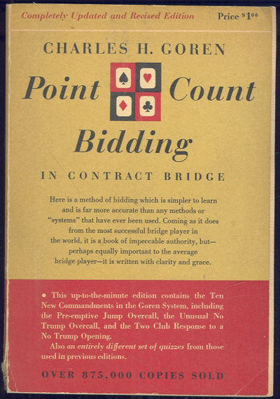 POINT COUNT BIDDING IN CONTRACT BRIDGE, Goren, Charles