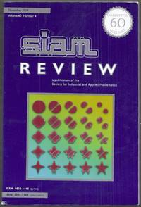 Siam Review. A publication of the Society for Industrial and Applied Mathematics.  December 2018, Volume 60, Number 4