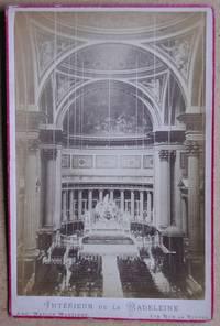 Cabinet Photograph: Interieur de la Madeleine.
