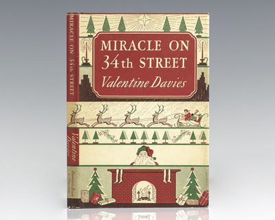 New York: Harcourt, Brace and Company, 1947. First edition of this modern Christmas classic. Octavo,...