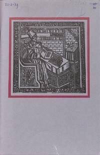Catalogue 419/1989 : rare books and manuscripts. Part I