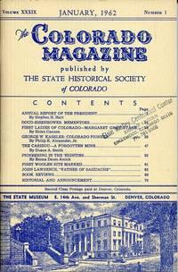 The Colorado Magazine January 1962 Volume XXXIX Number1