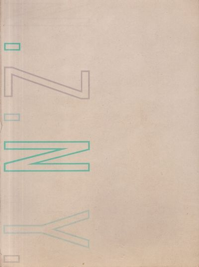 New York: 22 Wooster Gallery, 1985. First Edition. Soft cover. Fair. Octavo. White paper softcover. ...