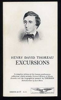 image of Excursions: A complete edition of the famous posthumous collection, which includeds Natural History of Massachusetts and the biographical memoir by Emerson
