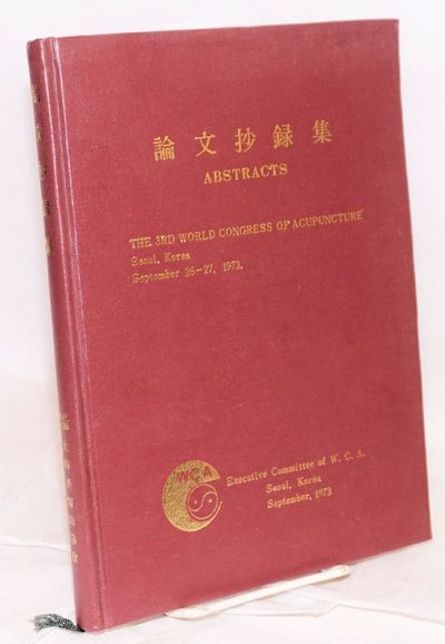 Seoul: Executive Committee of W.C.A., 1973. 227p., hardcover, illustrated with B&W photos of authors...