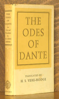 THE ODES OF DANTE