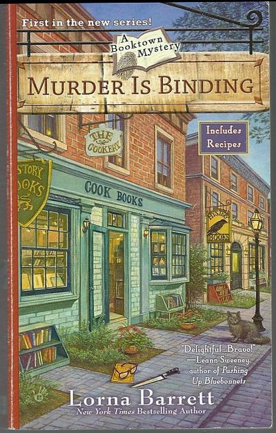 MURDER IS BINDING, Barrett, Lorna