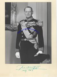 Signed Photograph Of King Frederick IX Of Denmark