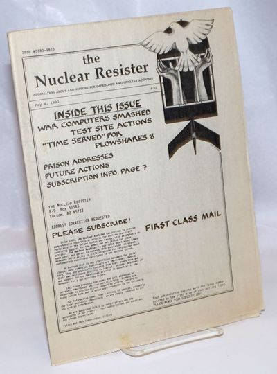 Tucson, AZ: National No-Nukes Prison Support Collective, 1990. 7p., folded tabloid format, evenly to...