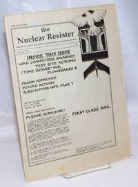 image of The Nuclear Resister: Information About and Support for Imprisoned Anti-Nuclear Activists; #70, May 4, 1990