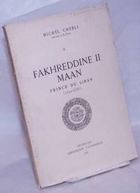image of Fakhreddine II Maan: Prince du Liban (1572-1635)
