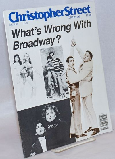 New York: That New Magazine, 1986. Magazine. 48p., 8.5x11 inches, articles, reviews, news, ads, cart...