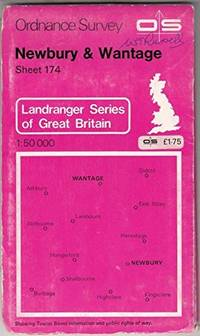 image of Landranger Maps: Newbury, Wantage and Surrounding Area Sheet 174 (OS Landranger Map)