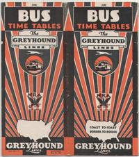 image of Bus Time Tables The Greyhound Lines June 1934 (corrected to May 28, 1934)