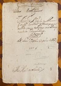 [1592 MANUSCRIPT: AUCTION OF QUICHE MAYA LANDS IN GUATEMALA]. Testimonio del titulo venta... [