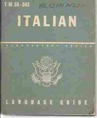 T M 30-303 Italian Language Guide A Guide to the Spoken Language