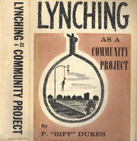 Lynching as a Community Project. [Comic Book Jackets]
