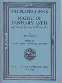 Night of January 16th: A Comedy-Drama in Three Acts
