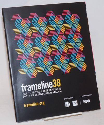 San Francisco: Frameline, 2014. Magazine. 120p., 8.25x10.5 inches, schedule, descriptions of the fil...